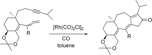 An important synthetic step in the synthesis of guanacastepene A